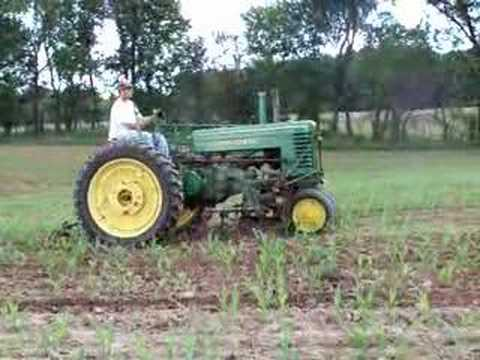 Cultivating with Antique Tractors