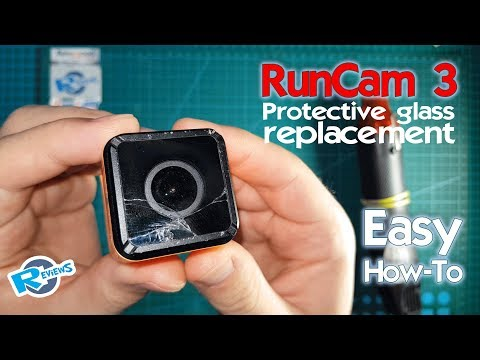 RunCam 3 cube How to Fix/replace protection glass - UCv2D074JIyQEXdjK17SmREQ