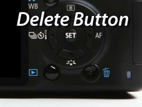 Canon Rebel XSi DVD | External Buttons | Tutorial Guide