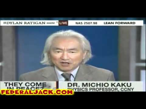 Michio Kaku Hyping Alien Invasion As Corporate Media Says Alien Threat Would Help Global Governance