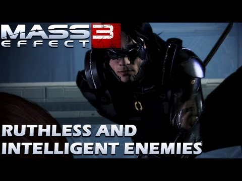 Mass Effect 3 - Ruthless and Intelligent Enemies Trailer
