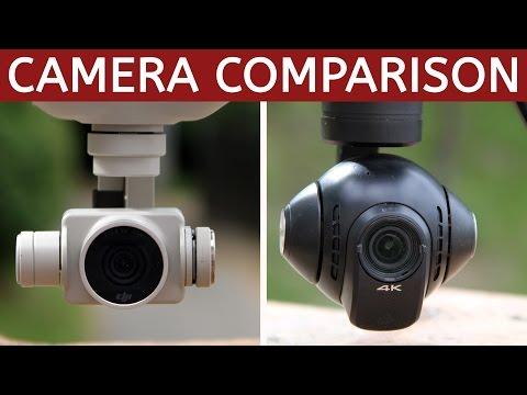 Which drone has the better camera?   DJI Phantom 4 vs Yuneec Typhoon H