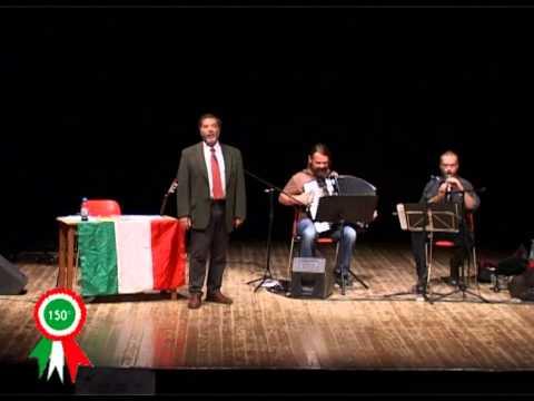 20110501 Conferenza spettacolo su Inni e canti del Risorgimento italiano con Emilio Franzina