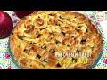 Фрагмент с начала видео Яблочный пирог/Olmali pirog