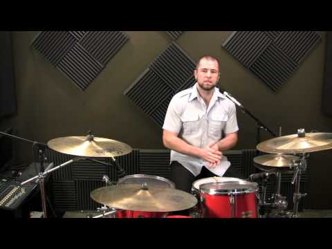 How To Drum - Paradiddle Drumset Application (Latin Flavor)