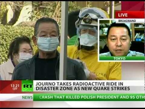 Radiation caught on tape: RT talks to Fukushima zone stalker