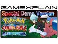 Pokémon Omega Ruby & Alpha Sapphire Special Demo Playthrough (3DS)