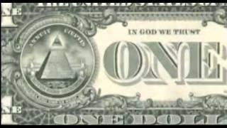 devil symbols in the 1 dolar note (simbolos satanicos na nota d 1 ...