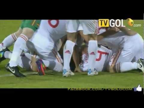 Spain 2-0 Switzerland (Thiago Alcantara) AMAZING GOAL - U.21 European Championship Final 2011