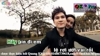[ Karaoke ] Anh không níu kéo_Khắc Việt
