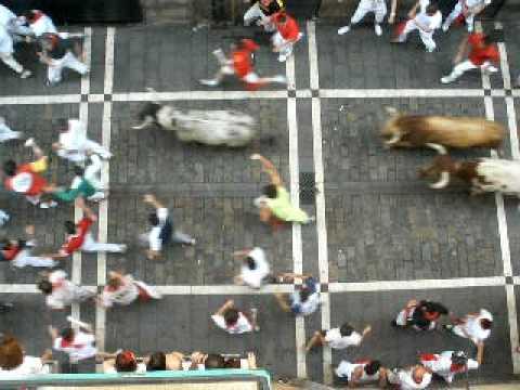 Encierro SanFermin 8/7/2010