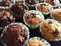 Как приотовить кексы/маффины с шоколадом/ How to make muffins with chocolate