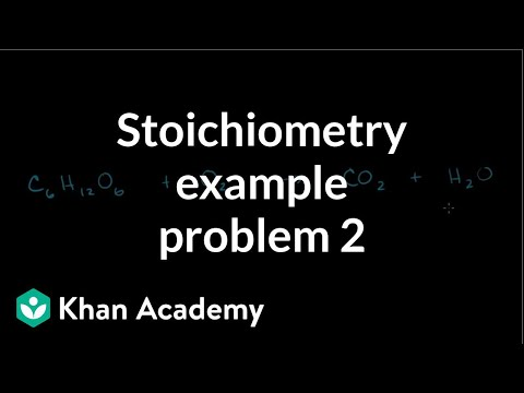 Stoichiometry Example Problem 2