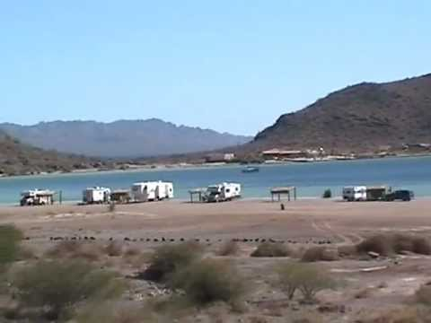 Playa Santispac Perfect Baja Beach for Camping