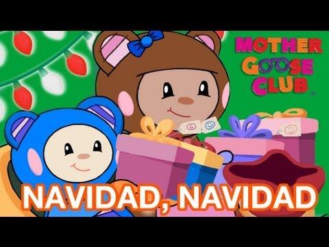 Navidad, Navidad - Mother Goose Club Holiday Christmas Songs - Canciones de Navidad