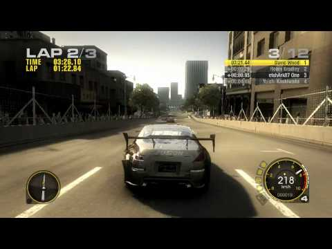 Race Driver GRID Gameplay 720p HD PC | Xbox 360 | PS3
