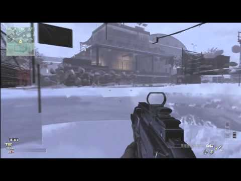COD MW3 Glitches!! Under Map &amp; Out Of Map On OutPost - Amazing Glitch Tutorial *NEW*