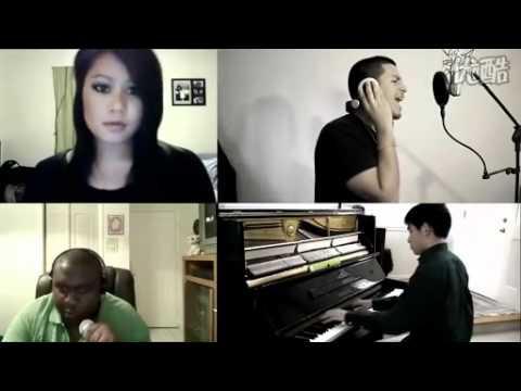 赞!4名网络红人穿越时空完美合唱Eminem联手Rihanna新单《我爱你不解释》!