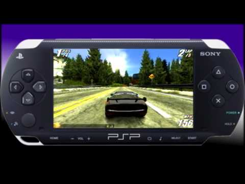 Burnout legends- PSP S-video capture- Race
