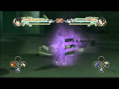 Naruto Generations: Susano'o Sasuke's Moveset