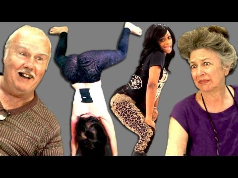 ELDERS REACT TO TWERKING
