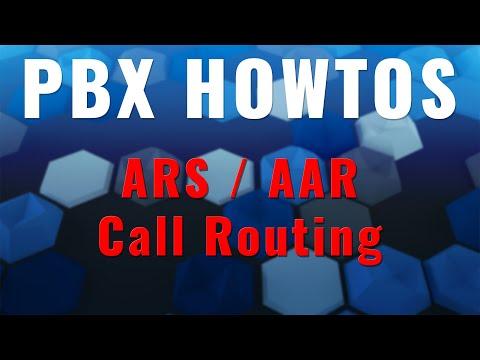Quick Tips - ARS / AAR Call Routing - Avaya PBX's