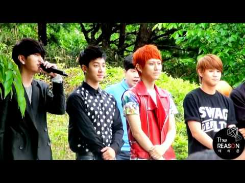 [FANCAM] 11052 BEAST mini fanmeeting ending