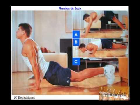Rutinas de ejercicios sin pesas ni aparatos