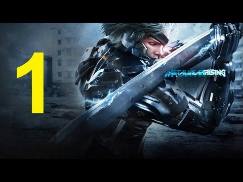 Metal Gear Rising Revengeance - Walkthrough part 1 gameplay walkthrough raiden let's play
