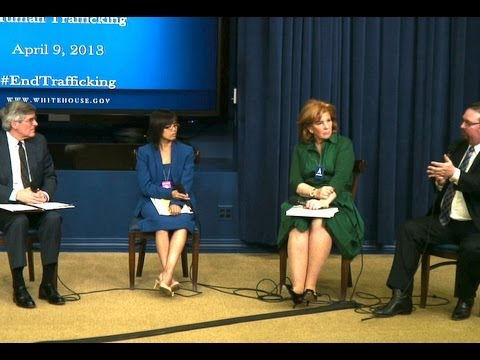 White House, Forum to Combat Trafficking  (white house)  4/9/13
