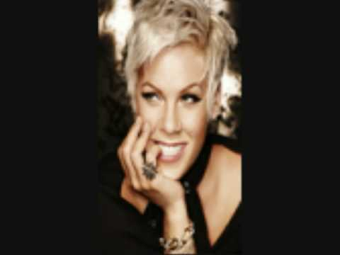 P!NK Boring Bonus Track Funhouse CD Lyrics on Screen Pink