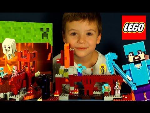 смотреть мультики лего майнкрафт
