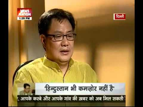 Kiran Rijiju talks about Modi govt's one year success!