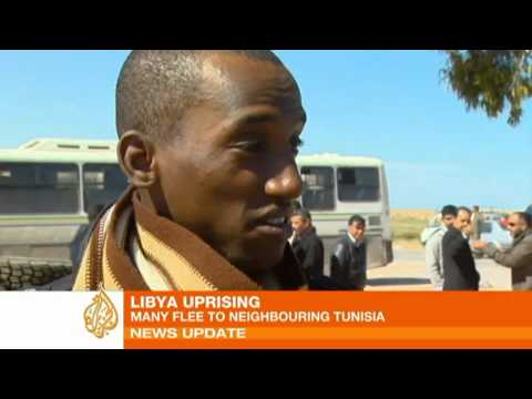 African immigrants flee Libya