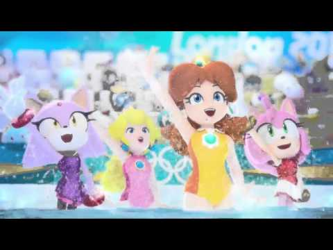 Mario & Sonic: London 2012 Games: Olympians Trailer HD
