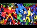 Marvel Mashers Iron Man Hulk Captain America Spiderman Wolverine Guardians of the Galaxy