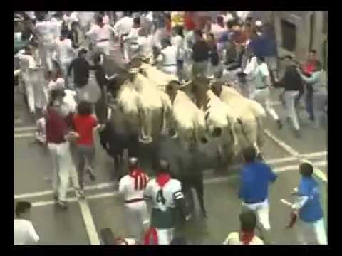 Encierro San Fermin Pamplona del día 11 2002
