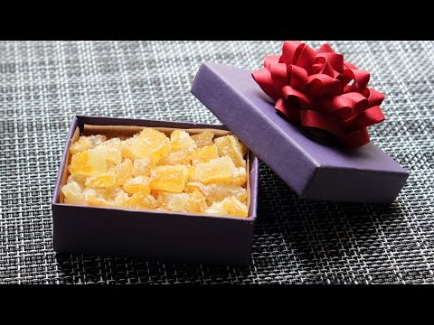 """Candied """"Buddha's Hand"""" Citron - How to Candy Citrus for an Edible Gift"""