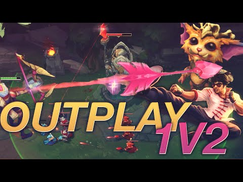 1v2 Outplay Lee Sin Gnar Dive - Ashe Ulti Across Map