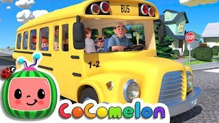 Wheels on the Bus  CoCoMelon Nursery Rhymes & Kids Songs