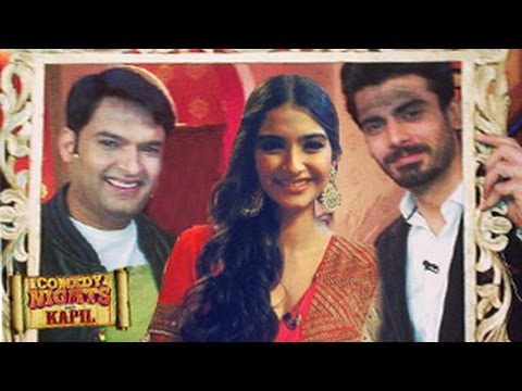 Sonam Kapoor & Fawad Khan Khoobsurat Comedy Nights with Kapil 27th July 2014 Episode |