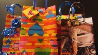 Tutorial: Como hacer bolsas para regalo con abre fácil.