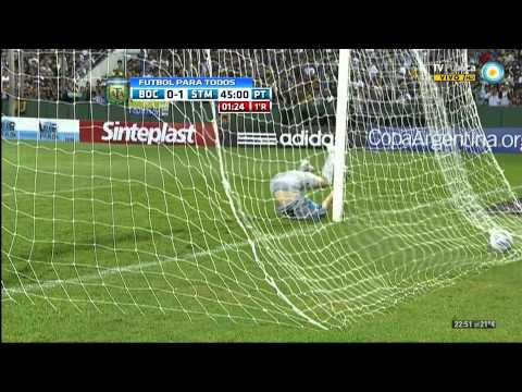 Boca 1 - 1 Santamarina [HD] [Copa Argentina 2012] ComuBocaT!
