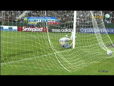 Boca 1 - 1 Santamarina [HD] [Copa Argentina 2012] ComuBocaT!