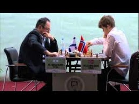 Slav Defence: Tal Memorial 2011 - Carlsen vs Gelfand - GM Elephant Gambit style attacks