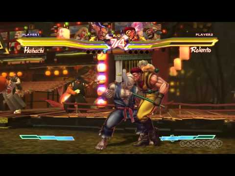 Street Fighter X Tekken - Lili &amp; Heihachi - Character Moves Gameplay  (PS3, Xbox 360, Vita)