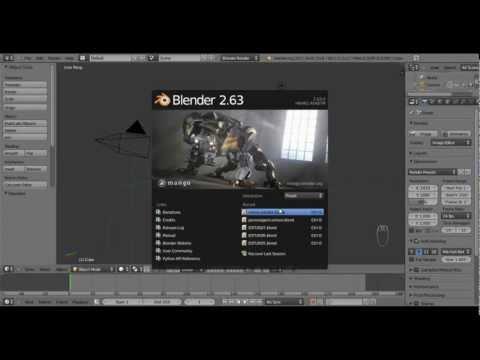 Onflow Tuts - Curso Basico de Blender 3D - Aula 1