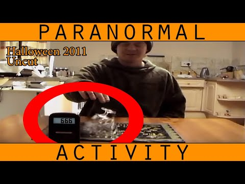 Ouija Board Gone Wrong at Halloween - FULL Version. Scary Ouija session.