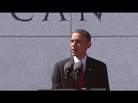 President Obama Speaks at the American (Veterans) Disabled for Life Memorial  10/5/14