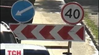 Километровые пробки на трассе Киев-Житомир